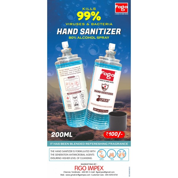 Fogo 200ml hand sanitizer