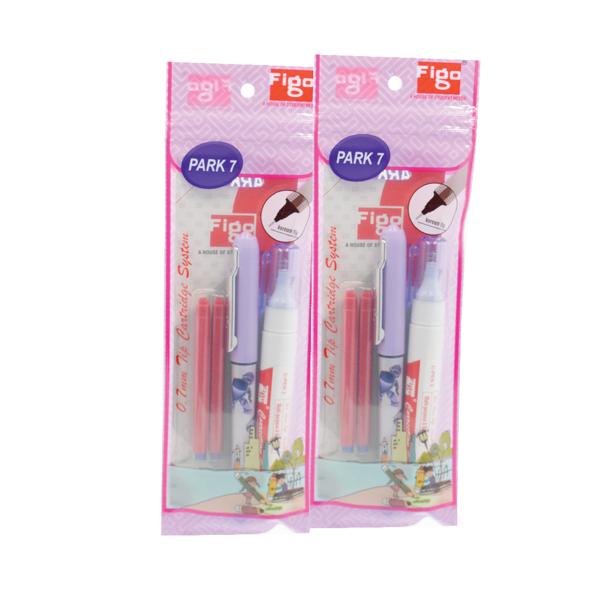 Figo Park  Roller Pen & Correction Pen Kit (Pack of 3)