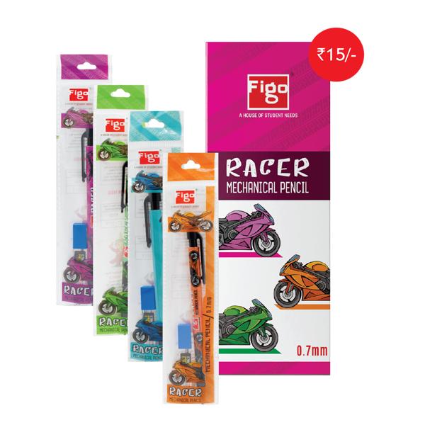 Figo Racer 0.7mm Mechanical Pencil  (Set of 1)