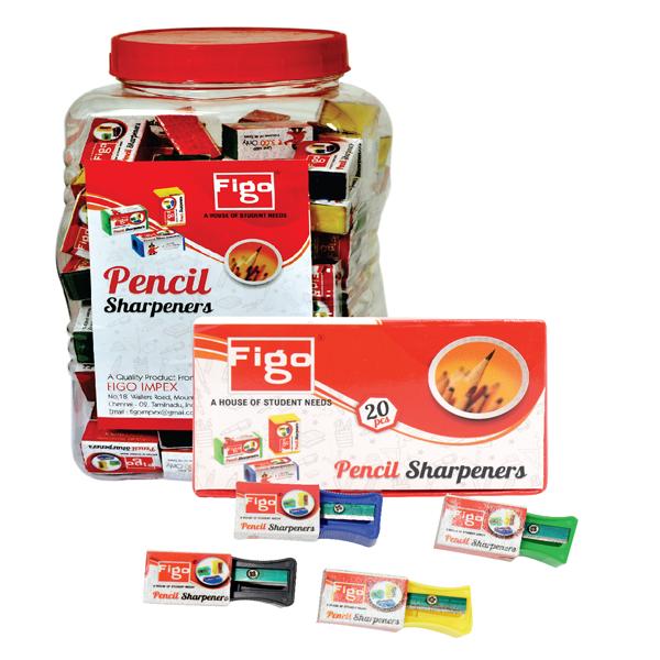 Figo Pencil Sharpener (Pack of 1)